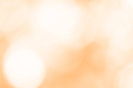 Abstract orange light bokeh background Standard-Bild