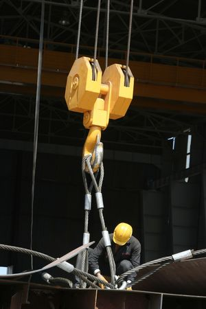 workingman: construcci�n naval  Foto de archivo