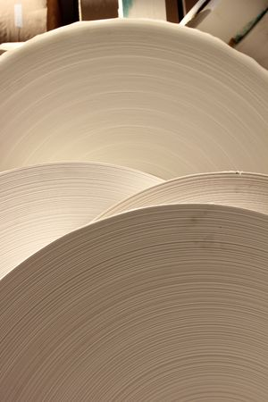 roll paper Stock Photo - 7816315