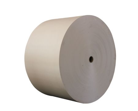 roll: roll paper Stock Photo