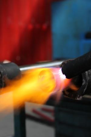 steam output: welding