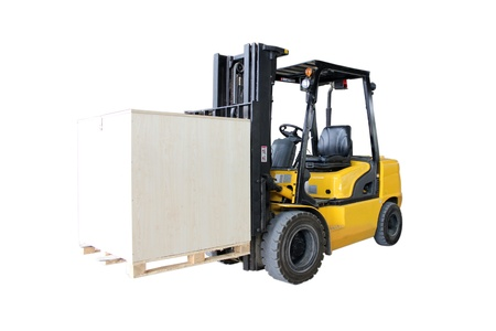forklifts Stock Photo