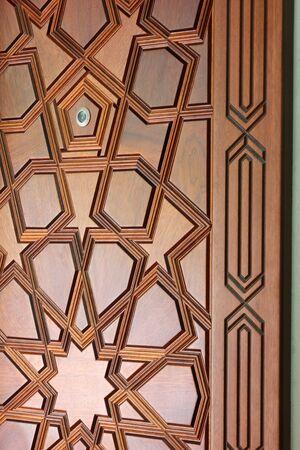 porte bois: porte de bois