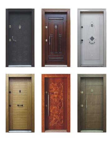 puertas antiguas: puerta de madera