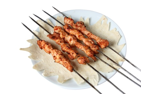 chicken kebab Stock Photo - 8561519