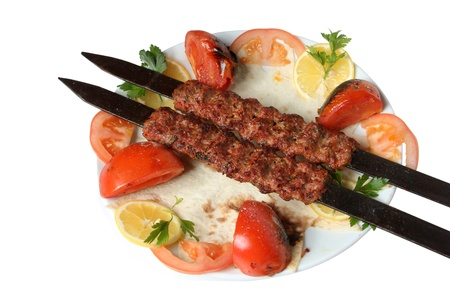 turkish kebab: kebab
