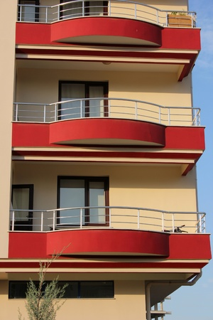 social apartment: balcony