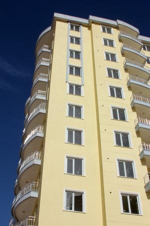vida social: bloque de apartamentos