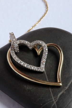 gold necklace Stock Photo - 8831891