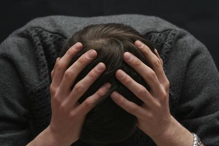 depression man: boredom