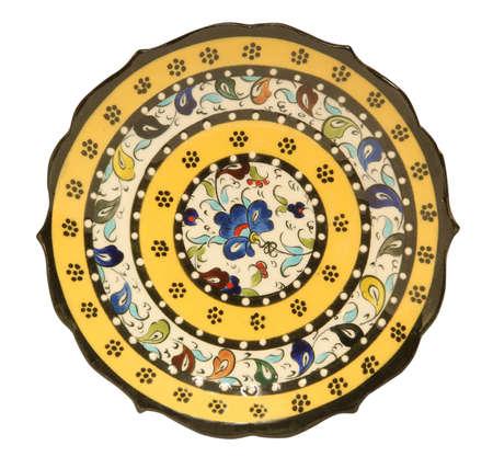 porcelain plate Stock Photo