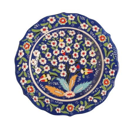porcelain plate photo