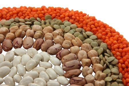 leguminosas: legumbres Foto de archivo