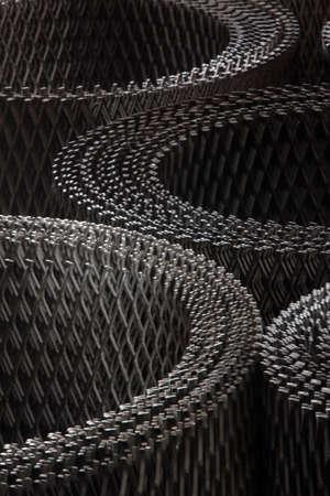 metal mesh photo