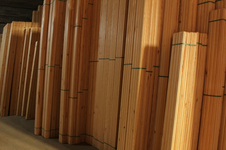 plywood: timber