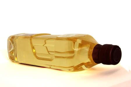 hot temper: botella de aceite de oliva