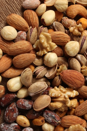 dried fruit: nuts