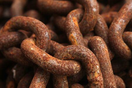 oxydation: chain Stock Photo