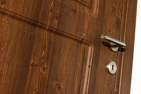 daily room: wood door