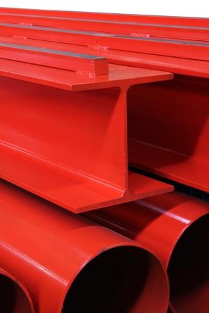 commercialism: crane rails Stock Photo