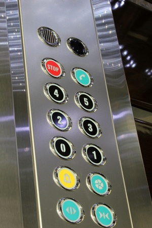 go button: elevator