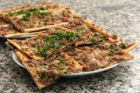 meat pita Banque d'images