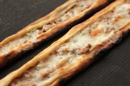 kebob: meat pita Stock Photo