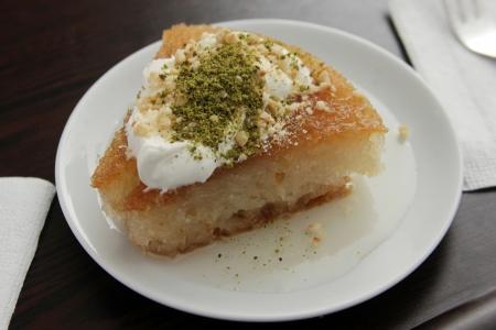 comida arabe: turco dulce Foto de archivo