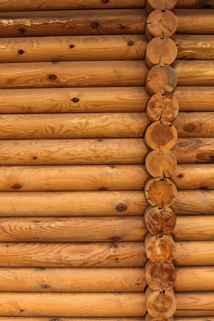log cabin: wood Stock Photo