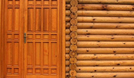 wooden house photo