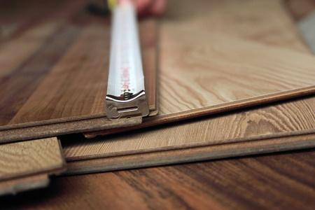 joinery: laminate Stock Photo