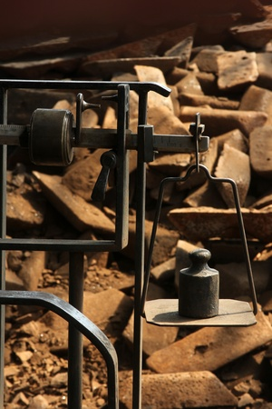 heaviness: scales Stock Photo