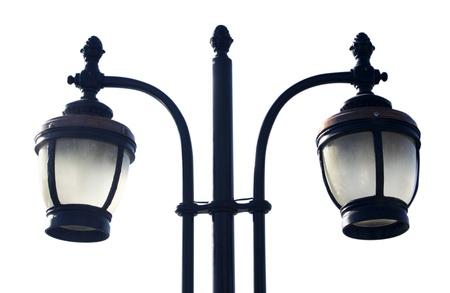 lighting column: lamp