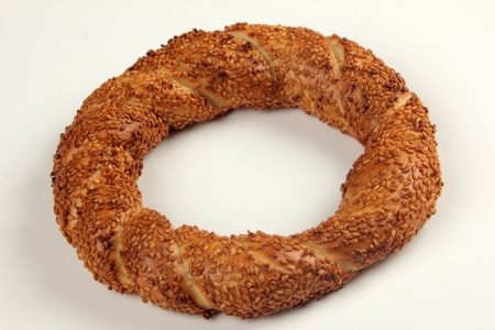 bagel: bagel Stock Photo