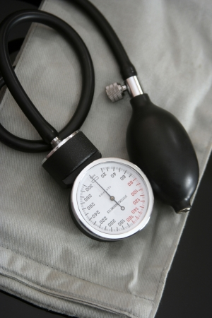 sphygmonanometer: sphygmomanometer  Stock Photo