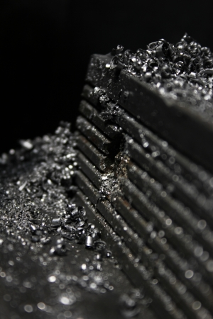 filings: iron filings Stock Photo