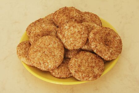 Sesame Cookies photo