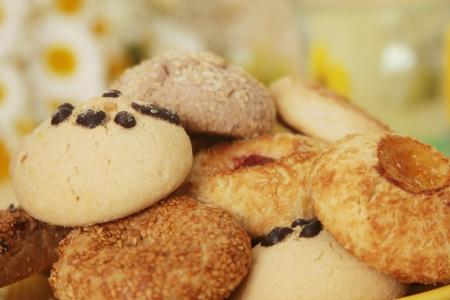 baking cookies: Biscotto