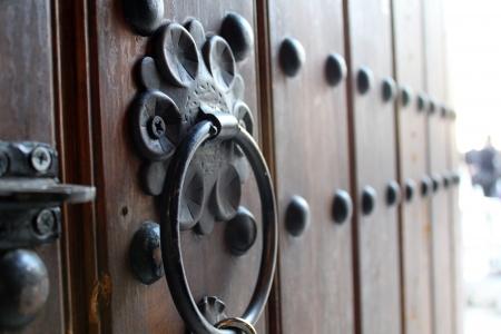 木製のドア