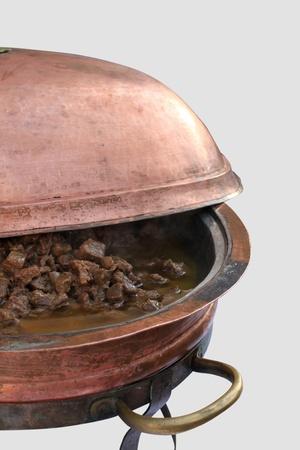 braised: braised meat Stock Photo