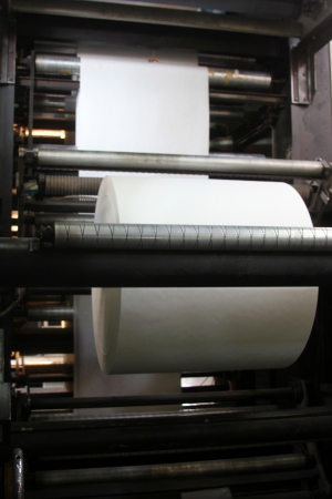 un rouleau de papier