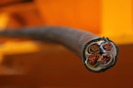 electric cable photo