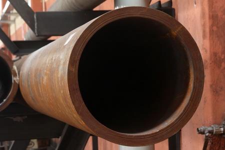 decaying: metal pipe