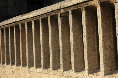 marmeren hek