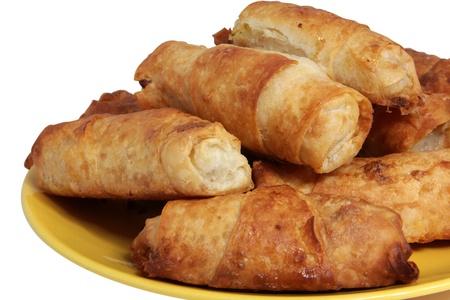 ingest: pastry Stock Photo