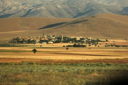 mountainy: Village Stock Photo