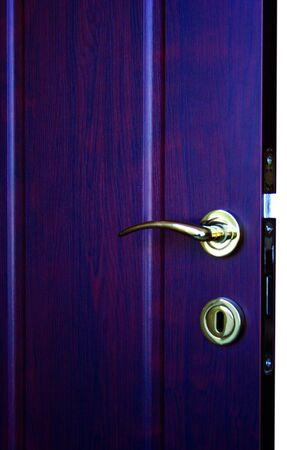 porte bois: Porte en bois Banque d'images
