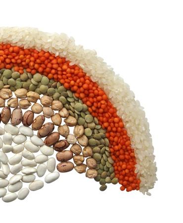 렌즈 콩: 콩과 식물 스톡 사진