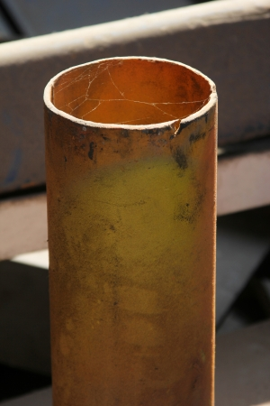 metal pipe photo