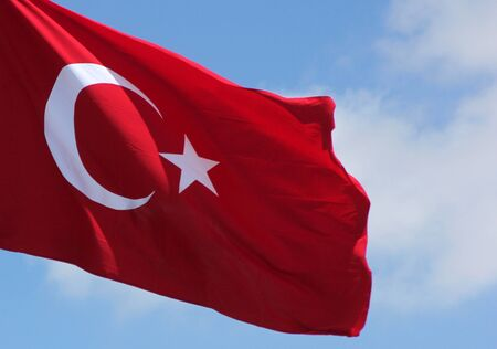turkish flag: turkish flag
